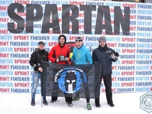 Winter Spartan Race SPRINT, Dolní Morava