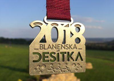 Blanenská desítka 2018