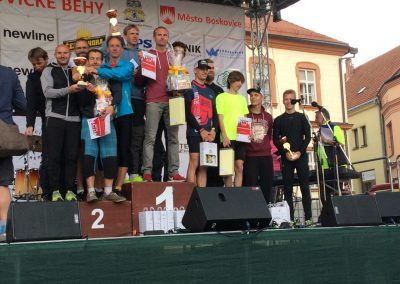 Běh za sedmizubým hřebenem Boskovice, 2019