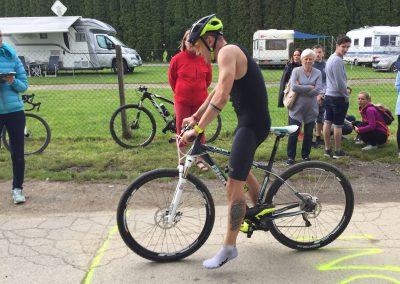 34. Rezavý mužíček - terénní triatlon